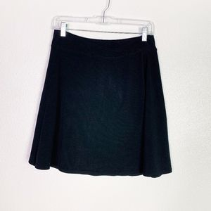 Athleta Black Skirt Small Petite euc